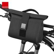 Sahoo Pro 112031 Full Waterproof 2L Mountain Road Cycling Bike Bicycle Handlebar Bag Pannier Pouch Basket Dry Sack