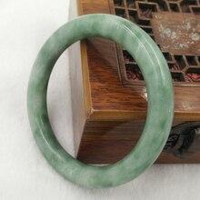 Kyszdl atacado de alta qualidade jade pulseiras grau a puro natural jade pedra pulseira s053