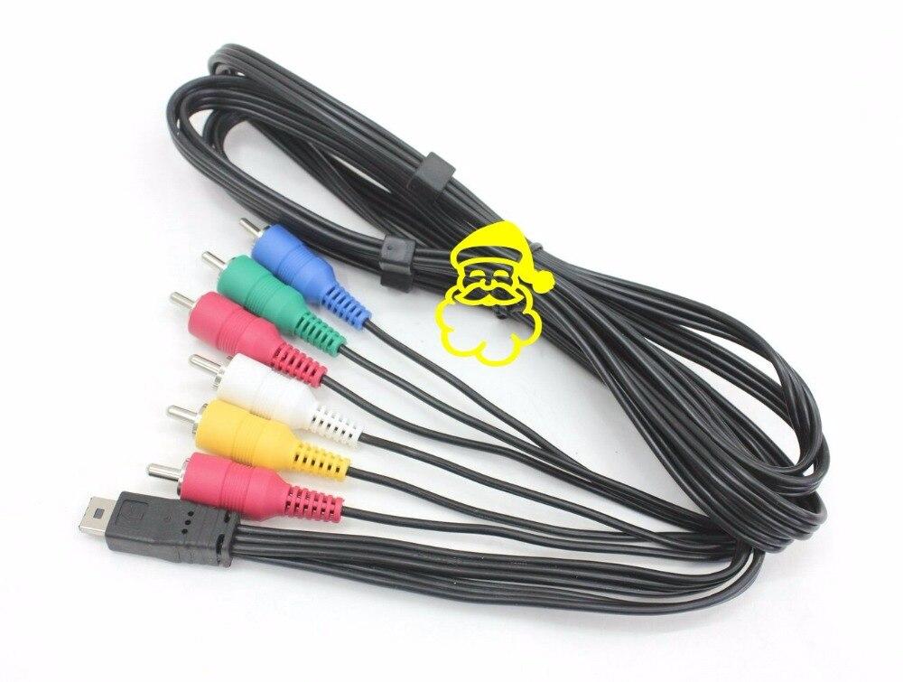 Original K1HY12YY0012 AV Multi Cable para Panasonic HDC-HS60 HS80 SD800 HC-V500 HC-X800 HC-X900 SD900 HDC-TM80 Camcorder