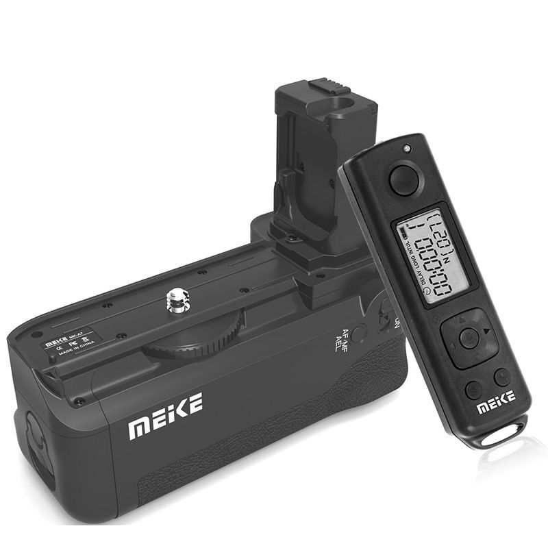Aperto Da Bateria MEIKE MK-AR7 Embutido 2.4g Controle Sem Fio para Sony A7 A7r A7s frete grátis