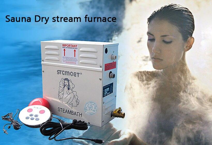 ST-60 Home bathroom use Sauna wet steam machine 6kw steam generator/engine digital display with light control