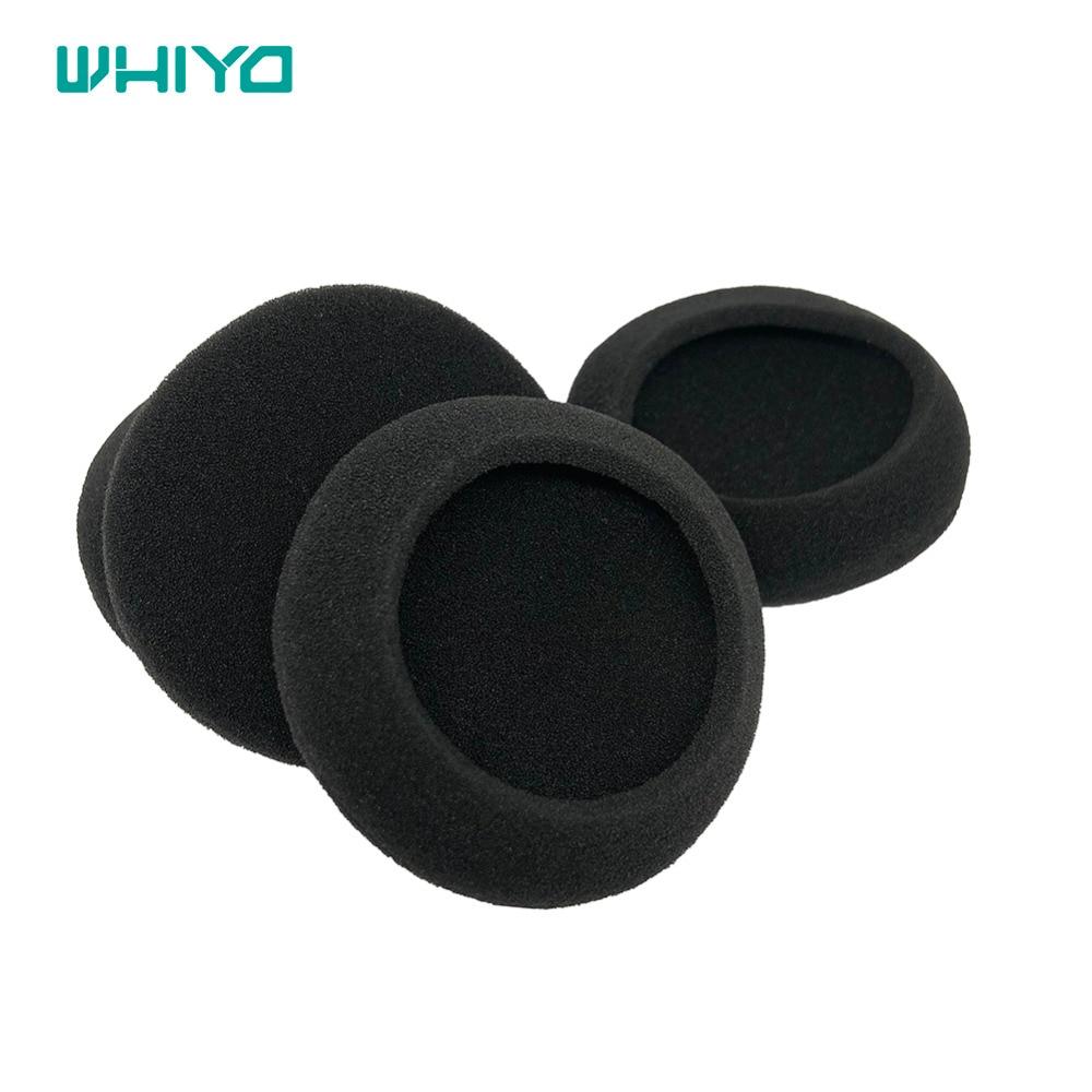 Whiyo 5 أزواج من كم منصات الأذن وسادة غطاء قطع الأذن استبدال ل فيليبس HS500 SBC-HL155 SBC-HL145 SHM6103 سماعات