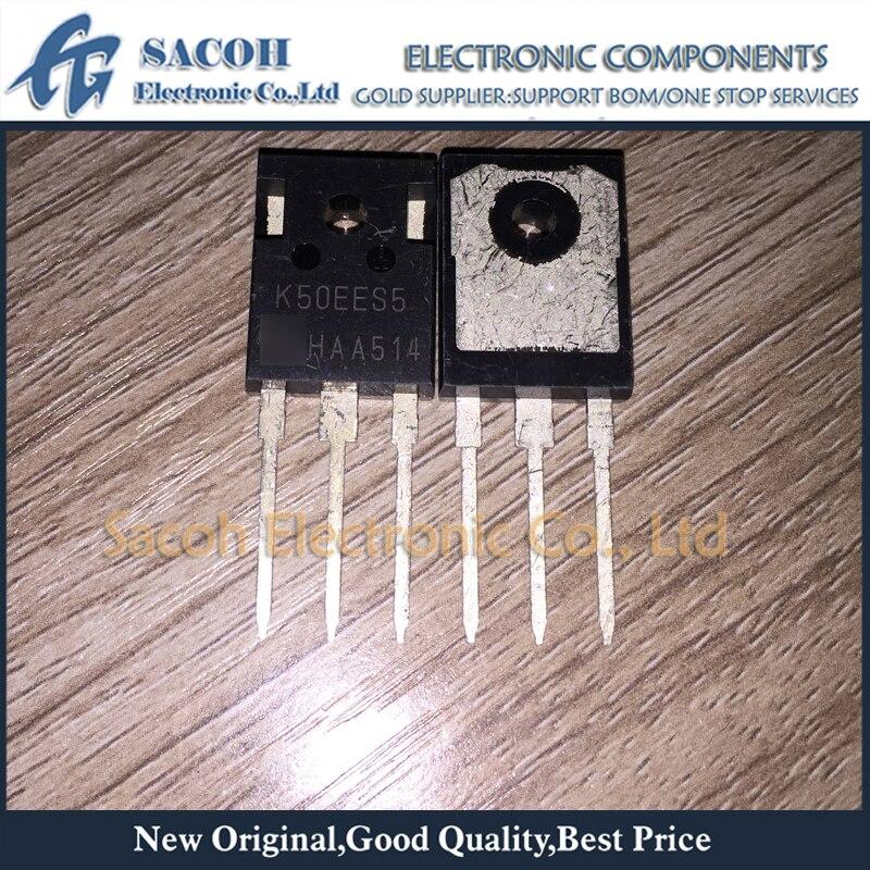 Frete Grátis K50ees5 Ikw50n65eh5 K50eeh5 Para-247 50a 650 v Potência Igbt Transistor 10 Pçs Ikw50n65es5