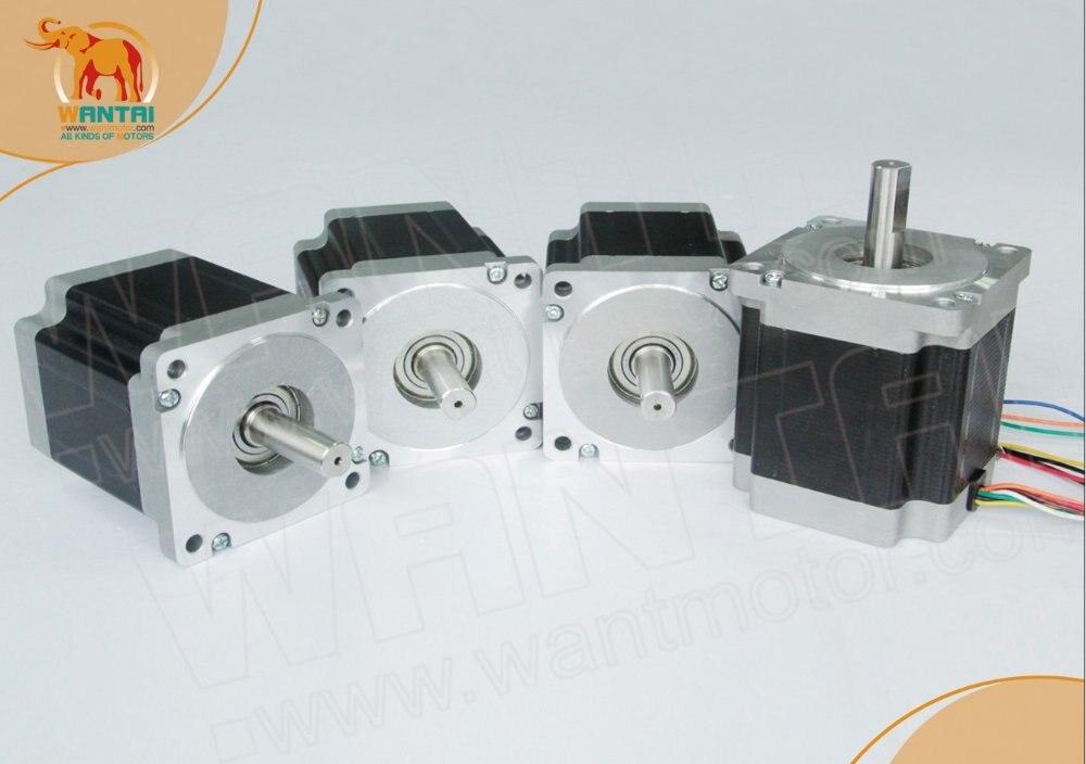Motor paso a paso Nema 23 Wantai de alta calidad 270oz-in, 3.0A, 2 fases, 57BYGH633 Kit CNC www.wantmotor.com