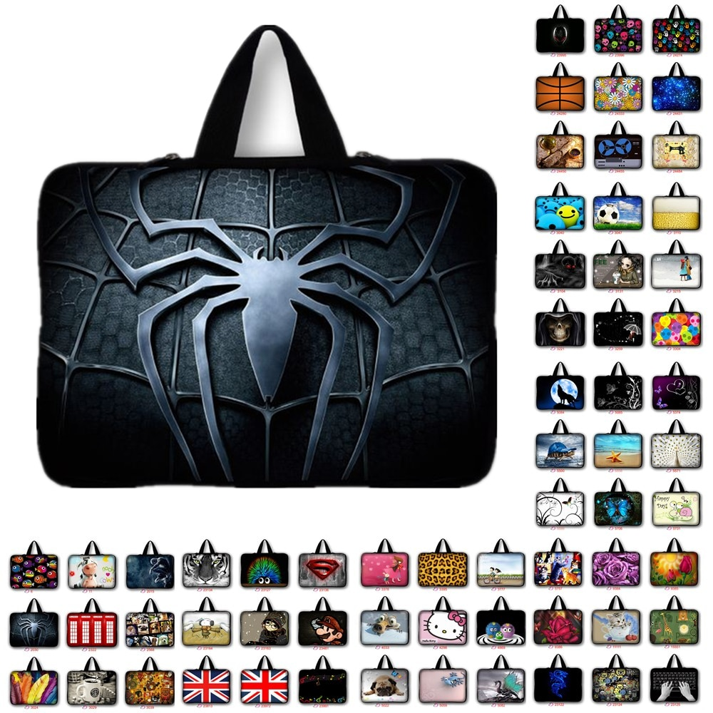 Universal 7 10 11.6 13 14 15 17 Portable Laptop Bag Carry Cases Sleeve Netbook Cover Pouch 13.3 15.4