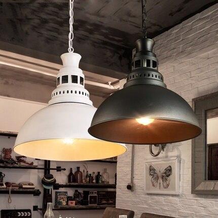 Nordic Estilo Loft Edison Droplight Luminárias Para Sala de Jantar Do Vintage Pendente Industrial RH Lâmpada Pendurada Lustres De Sala