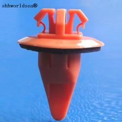 Shhworldsea auto clipes e clipes prendedores de roda alargamento moulding clipe com sealer para toyota 75397-35010 75395-35070 4-ruuner 2003-on
