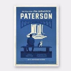 Paterson filme jim jarmusch poster de seda imprime casa decoração da parede pintura quarto