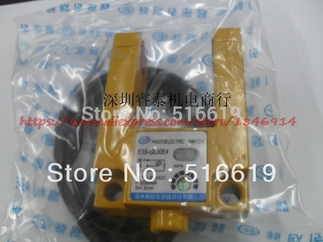 Фотоэлектрические датчики E3S-GS30E4 /U шириной 30 мм, может заменить Фотоэлектрические датчики E3S-GS3E4 gm
