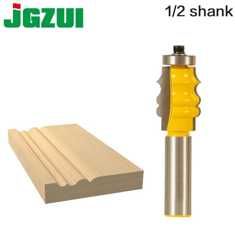 "Quadro de imagem molde roteador bit 1/2 ""12mm haste corte altura 1-1/8"", profundidade de corte 5/32 ""cortador de madeira tenon cortador rct"