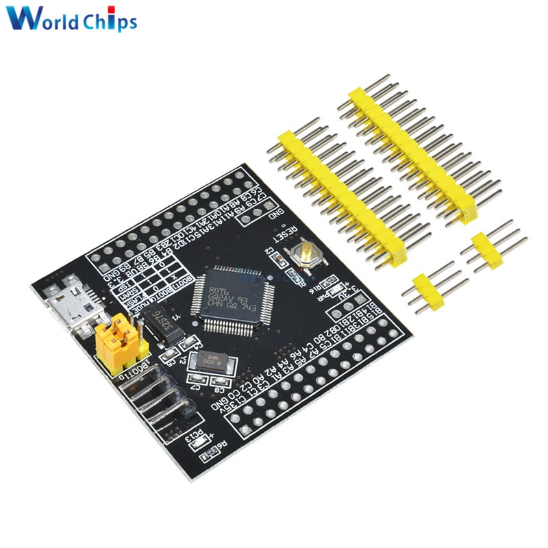 STM32F103RBT6 ARM STM32 Minimum System Mini Development Board Module Cortex-m3 M76 for Arduino Expansion Board STM32F103C8T6 DIY