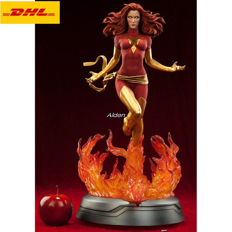 """Figura de acción de Marvel Girl de busto de Fénix oscuro de 22 """", figura Sexy de Anime, retrato PF Jean Grey-Summers GK, juguete de figura de acción B967"""