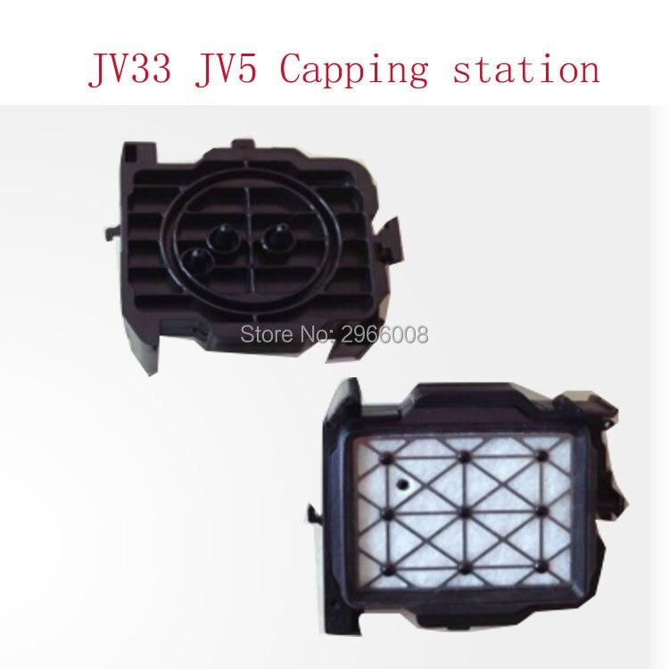 ¡Envío Gratis! 2 unids/lote calidad superior Dx5 Estación de tapas para Mutoh VJ1204 1604 de 2606 en venta