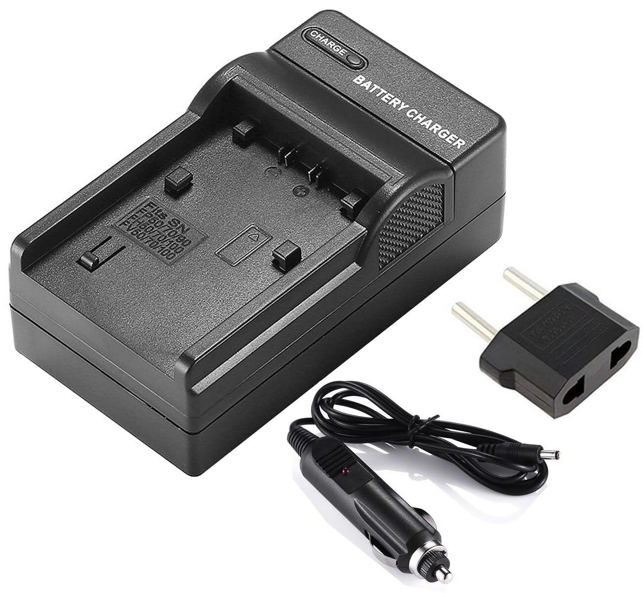 Cargador de batería para Sony HDR-CX130, HDR-CX150, HDR-CX155, HDR-CX160, HDR-CX170, HDR-CX180, HDR-CX190,...