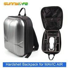 Mini hardshell mochila à prova dwaterproof água bolsa de ombro saco de armazenamento para dji mavic ar
