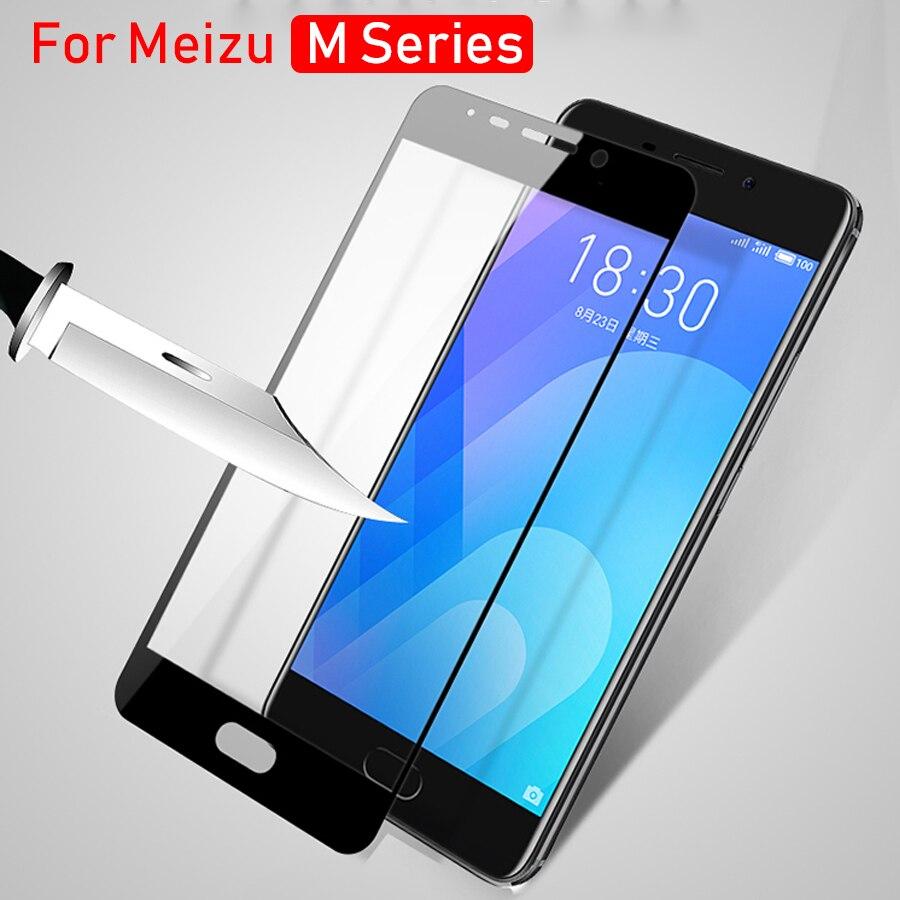 Verre pour Meizu M6 Note verre de protection sur Maisie M5s M5c M3s M3 M5 Note non Meizy Maizu labyrinthe M 5 s 5c 3 s 6 5 3 M6note Film de verre
