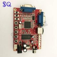 Convertisseur VGA/CGA/CVBS/S-VIDEO professionnel jeu darcade convertisseur vidéo conseil pour moniteur CRT LCD PDP haute définition