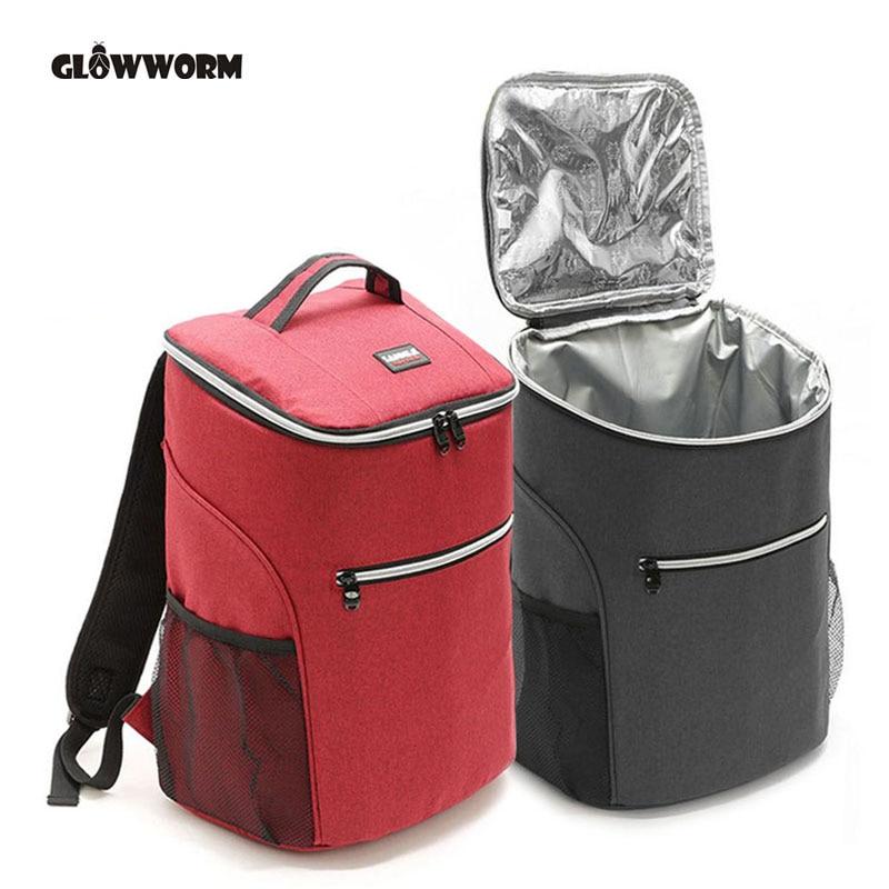 20L 600D oxford gran bolsa thermo caja para almuerzo o pícnic aislamiento...