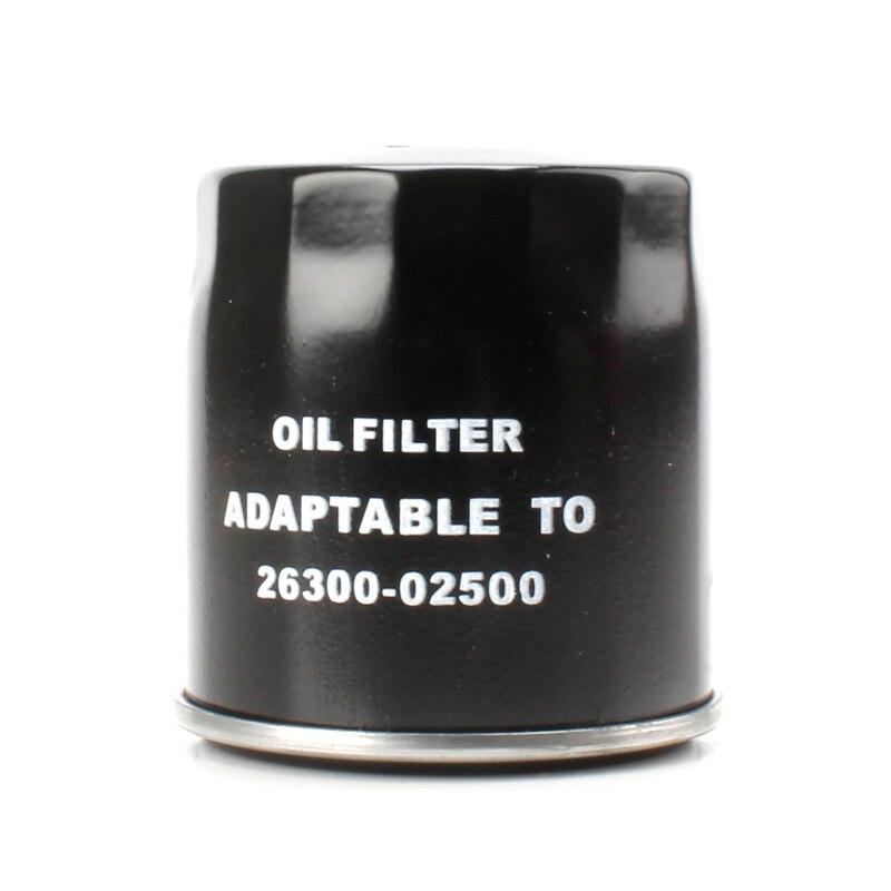 Filtro de aceite adecuado para NISSAN Primene 1.4L, Elantra oem 26300-02500 # SH87 TH6814