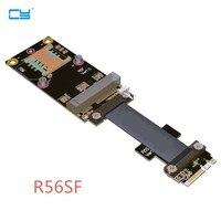 Riser M.2 wifi A+E A.E Key 2230 To Mini PCI-E mPCIe mini-pcie Riser Card Extender Cable 20cm 60cm M2 wi-fi Bluetooth 3G 4G card