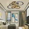 Moderne cristal industriel vent nordique plafonniers Plafonnier LED Plafonnier Luminaire pour salon chambre restaurant