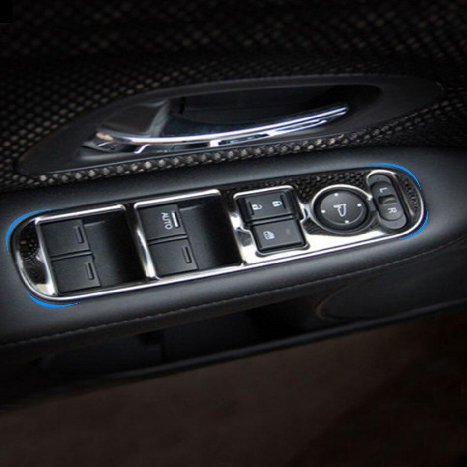 Автомобильный Салон Carmilla, из нержавеющей стали, для Honda HRV HR-V VezeL LHD 2014-2017