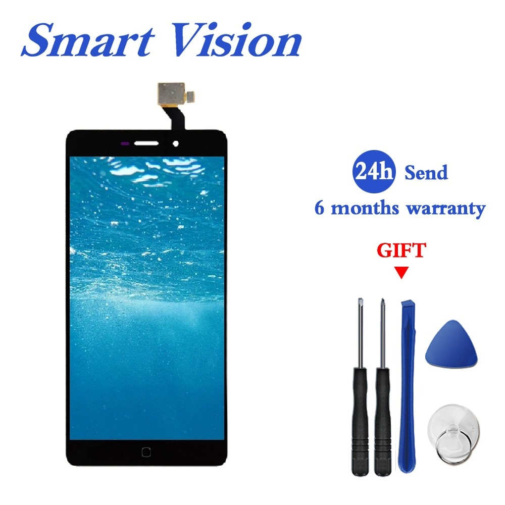 5,5 pulgadas 100% Original para Elephone P9000 pantalla LCD + pantalla táctil digitalizador reemplazo de montaje para Elephone P9000 Lite