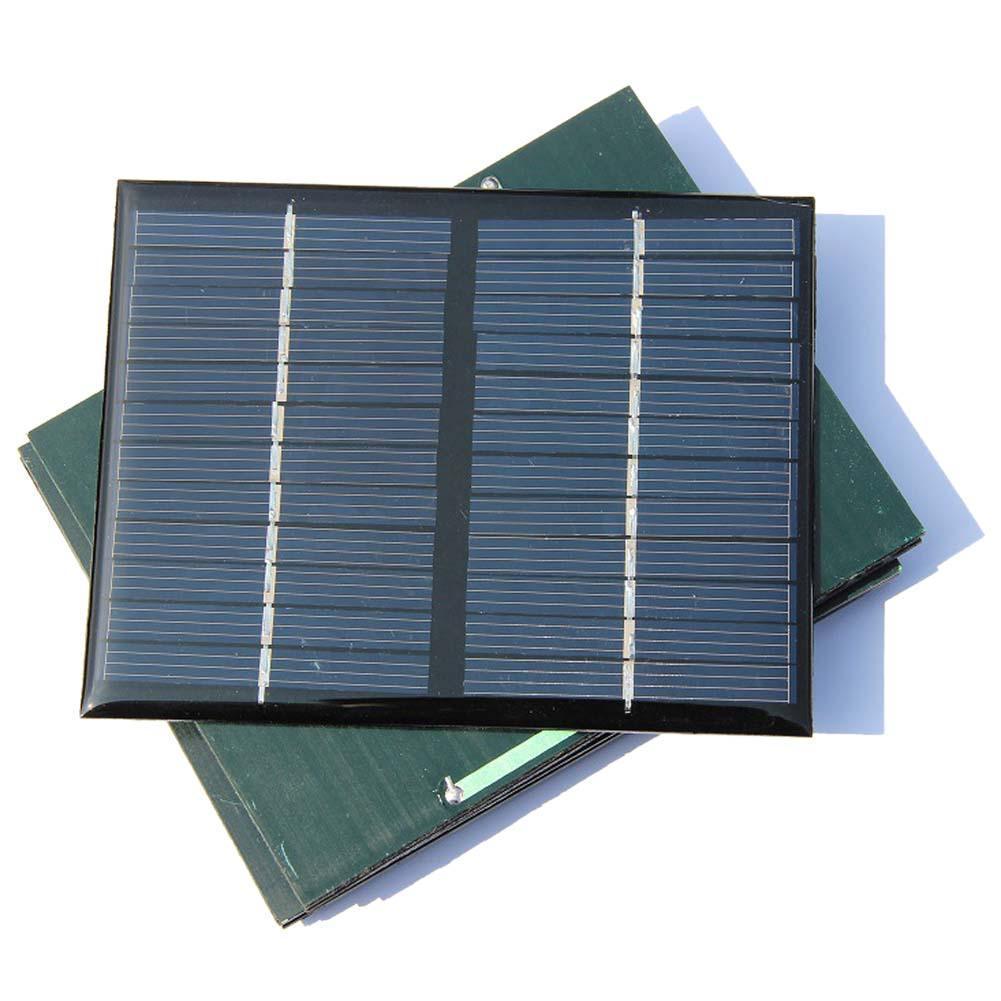 10 Uds. Universal 12V 1,5 W Mini paneles solares célula Solar policristalino fotovoltaico Módulo de carga de energía de batería DIY A609