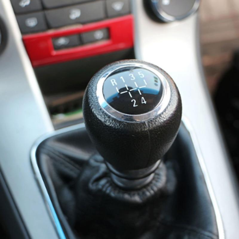 1Pcs/Set Black Gear Shift Knob Gear Head Handball Case for Chevrolet Cruze 2009 2010 2011 2012 2014 2015 2016 Accessories