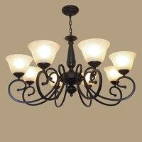 pendant light 8 fashion iron lamp NEW vintage lamp bedroom lamp living room lights restaurant Pendant LAMP ZCL