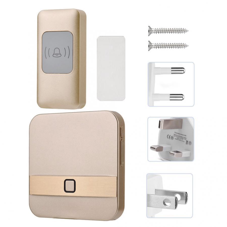 Video mirilla timbre inalámbrico inteligente timbre de puerta impermeable Kit SOS 52 tonos de llamada timbre de puerta Cámara