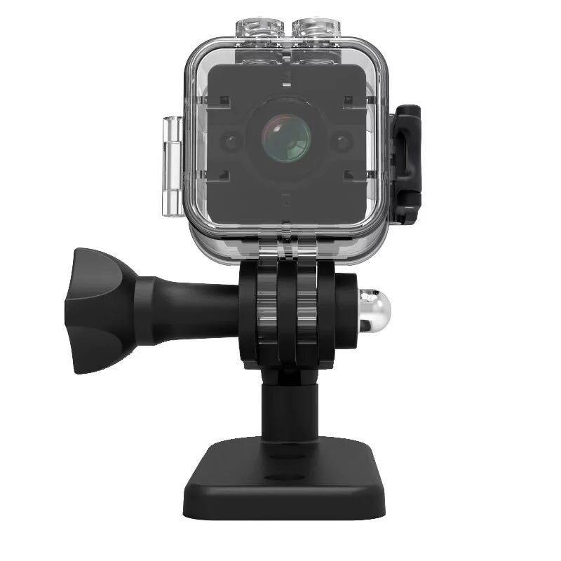 Nueva SQ12 1080 P HD Mini cámara de visión nocturna de movimiento Detectiom grabadora de vídeo al aire libre deporte 30 M Cámara de Acción impermeable grabadora