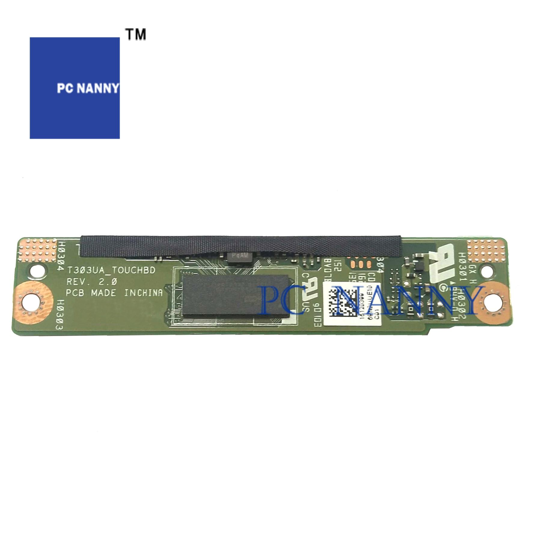 Pcnوالأرضيات لـ Asus Pro T303 T303UA T303U ، لوحة توشا SD ، زر طاقة ، مكبرات صوت اختبار جيدة