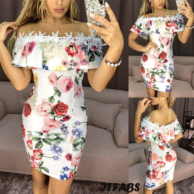 AliExpress - Womens Bodycon Bandage Evening Party Dress Ladies Formal Wedding Lace Dresses