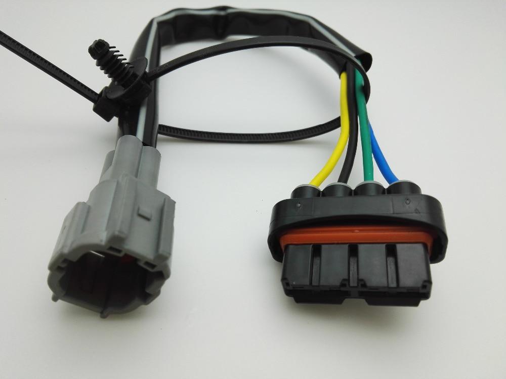 Ventilador electrónico de coche, ventilador de radiador, mazo de cables de motor para Nissan New Sunny x-trail Teana Sylphy Qashqai