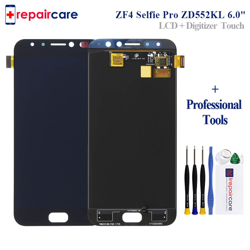 "5,5 ""para Asus Zenfone 4 Selfie Pro ZD552KL pantalla LCD de pantalla táctil digitalizador Asamblea reemplazo para ASUS ZD552KL LCD pantalla"