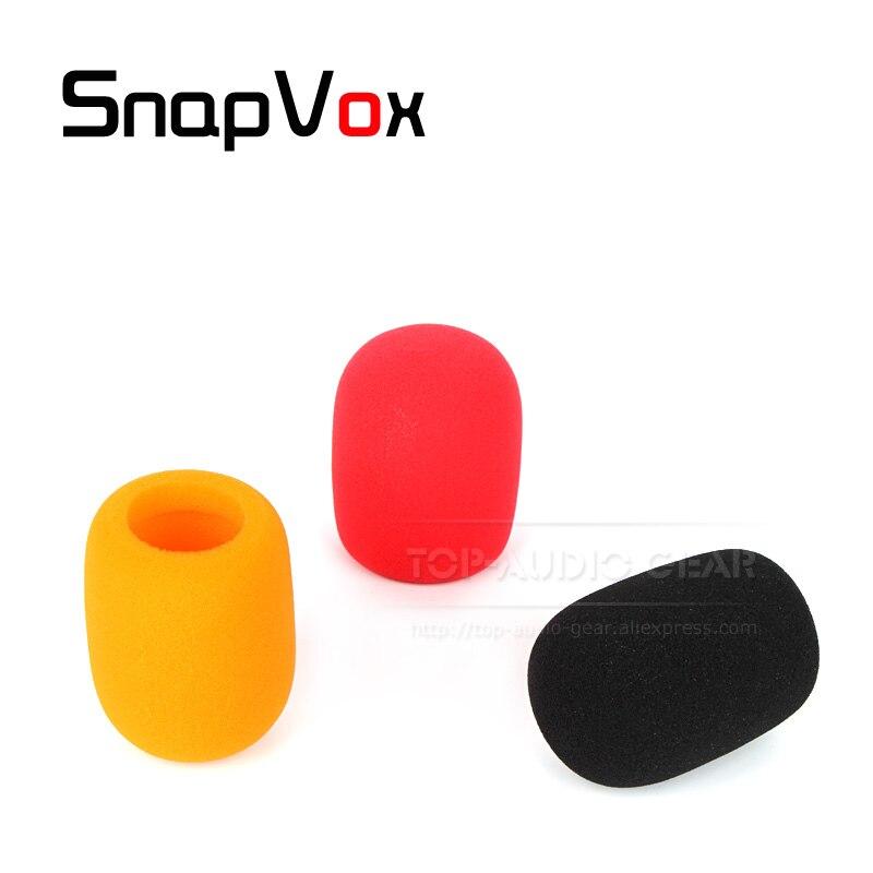 Micrófono de mano, cubierta de esponja para parabrisas, filtro de espuma Pop para Shure Beta 58A 57A 87A SM58SK SM 58S 58SLC, micrófono de mano, parabrisas