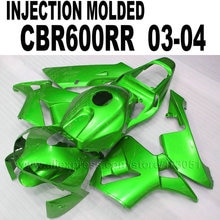 Bagues de rechange pour Honda   Moulage par Injection personnalisées, pour Honda cbr600 2003 CBR 2004 RR CBR600RR 03 04, kit de bagues de réparation du corps vert