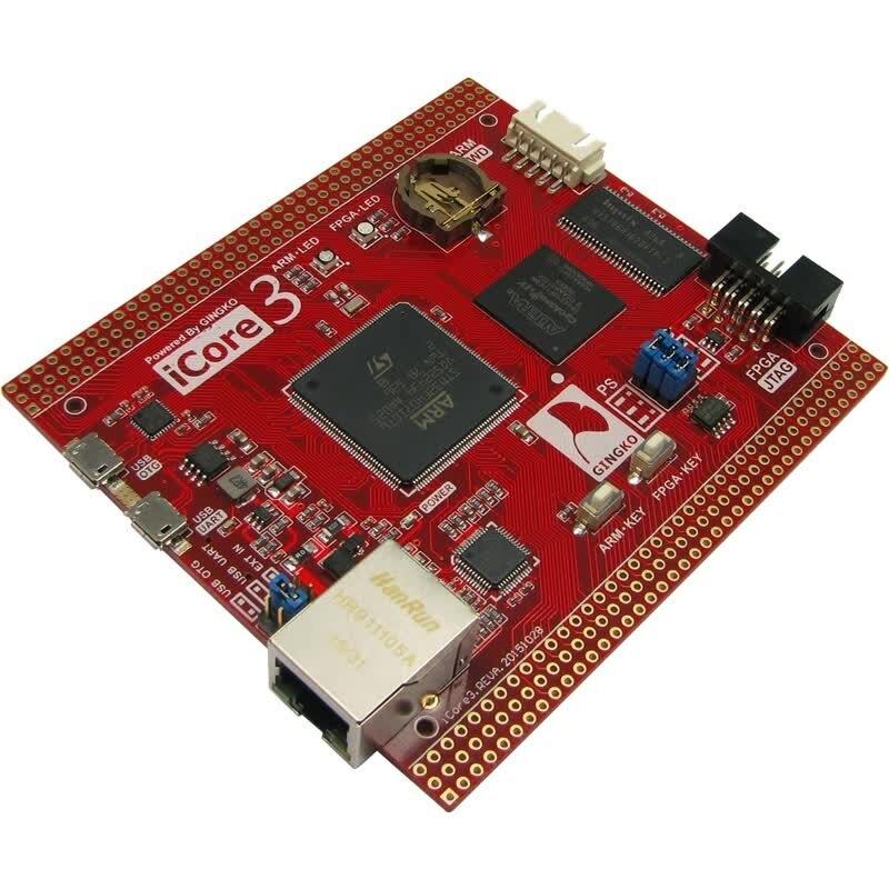 Icare3 ARM Placa de desarrollo FPGA STM32F407 Tablero de control industrial Ethernet de doble núcleo