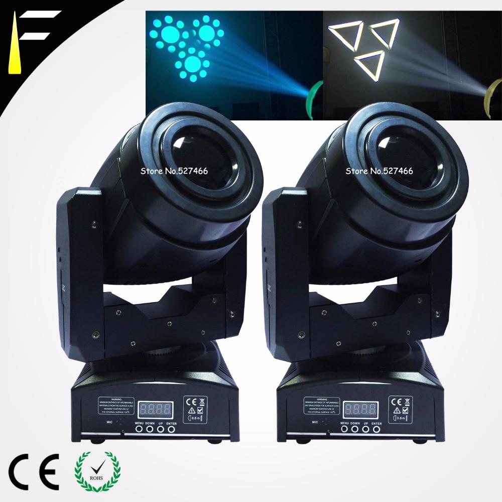 1x60w COB LED etapa Luz con cabezal móvil Quad RGBW mezcla 5 Gobo Led faro móvil lavado para boda/Disco/Adj auditorio Luz móvil