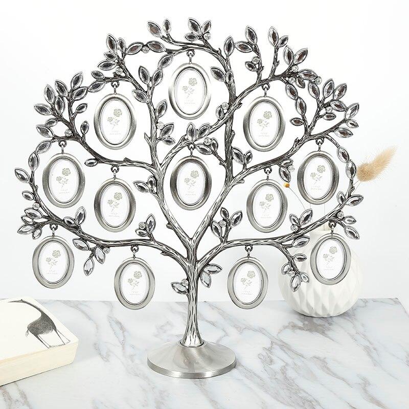 30*30cm árvore da família pendurado foto imagem 12 quadro titular mesa de exibição superior decoração mais novo criativo moda