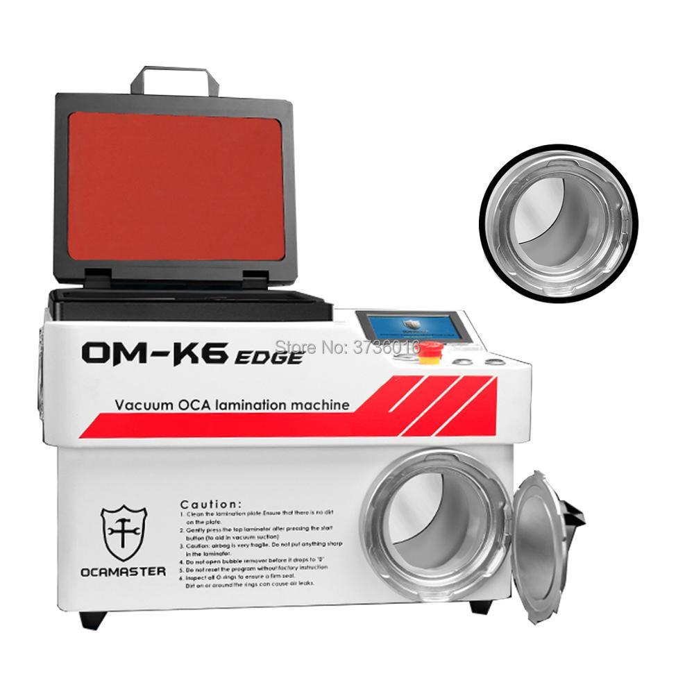 Máquina laminadora automática al vacío OCA Master de OM-K6 Edge, extractor de burbujas para Samsung Edge Lcd Screen Oca Glass Laminating