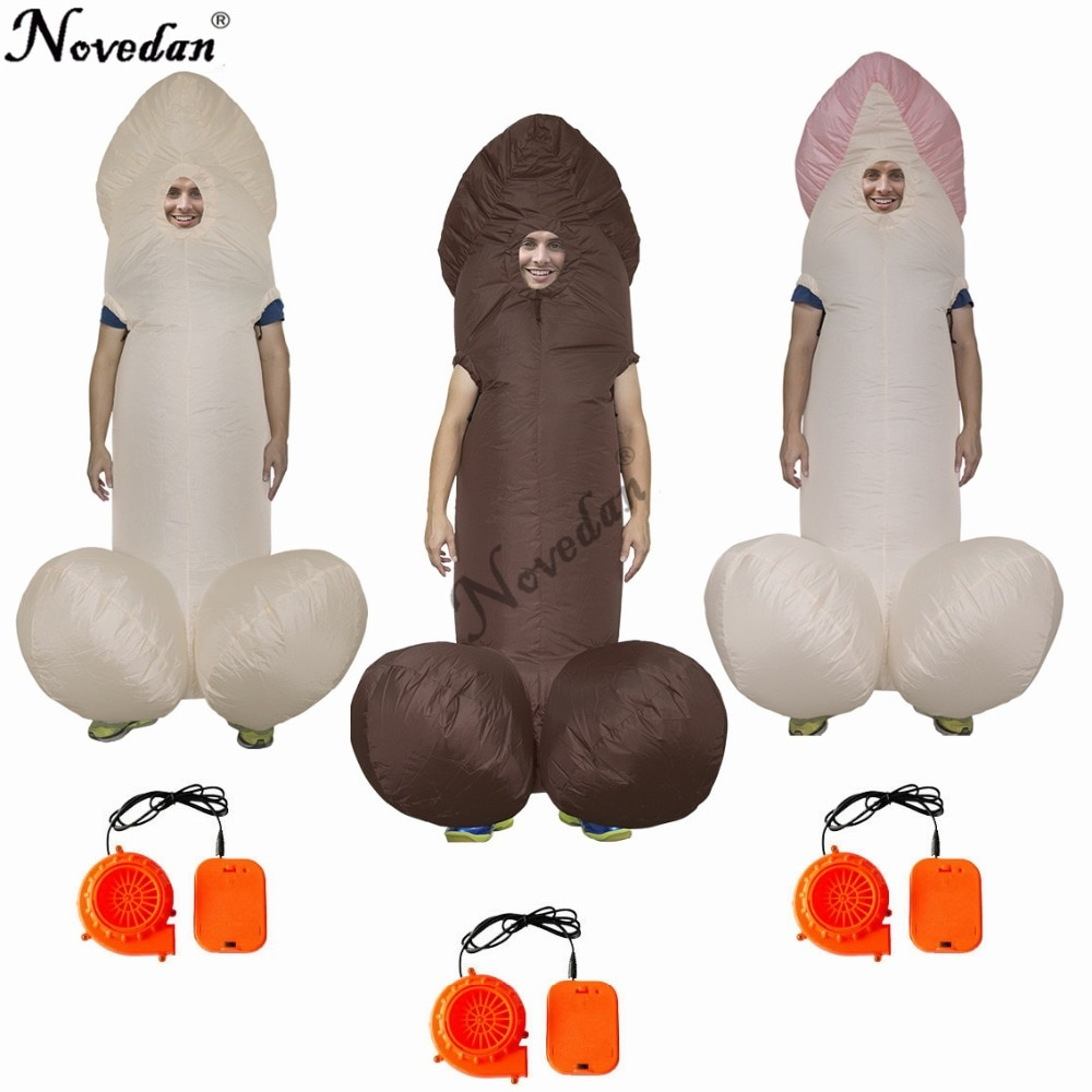 Stag Night Halloween Costume Cosplay Inflatable Willy Adult Costumes Fancy Dress Penis Sexy Anime Suit Disfraces Adultos