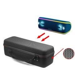 Caso do Curso De EVA Rígido Caso Capa Preta para Sony XB41 Caso Saco para Sony SRS-XB41 Estéreo Portátil Sem Fio Bluetooth Speaker