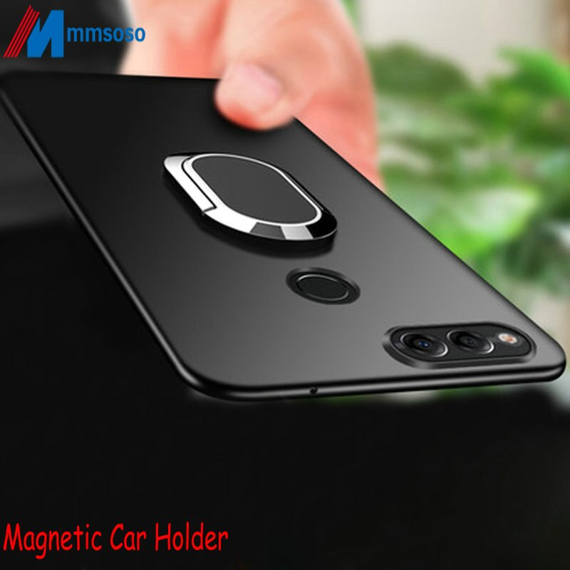 For ASUS ZenFone Max Plus Case Magnetic Case For ASUS ZenFone Max Plus M1 ZB570TL X018D Soft Silicone Magnet Cover ZB570TL Cases