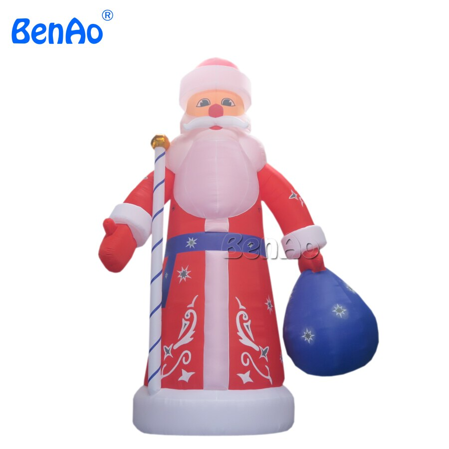 X023  26ft 8m High latest inflatable christmas Santa Claus decoration for Christmas