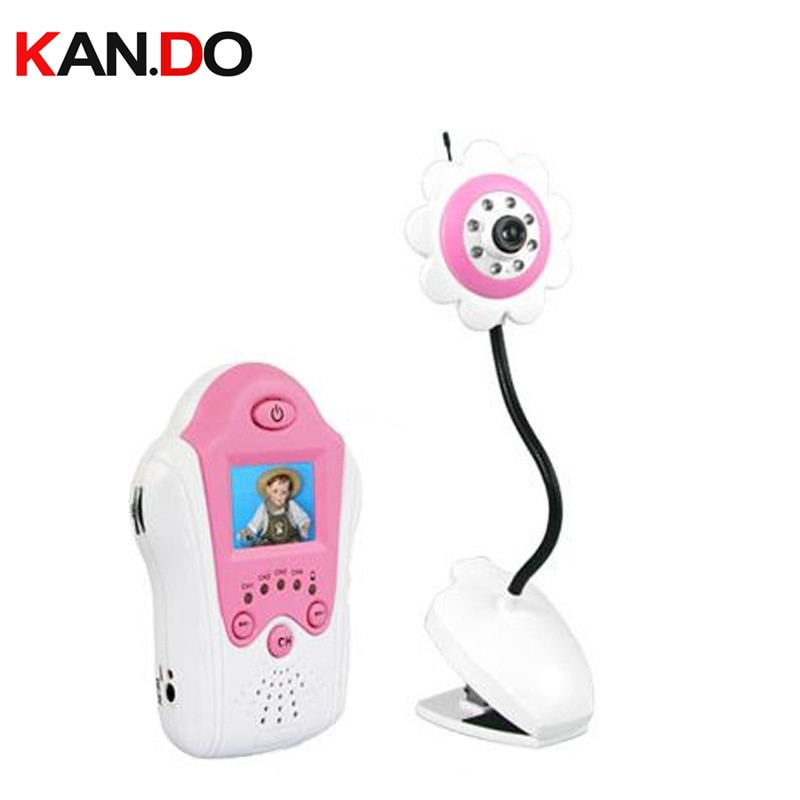 "Monitor de bebé visión nocturna 1,8 ""Pantalla LCD monitor de cámara para cuidado de bebé monitor inalámbrico kits inalámbricos 2,4G cámara inalámbrica"