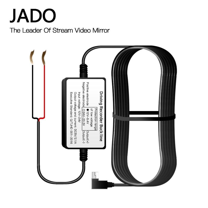 JADO D800 D560 D220 PC12-5 24V 12 V-5 V Power Kabel Verbinden Auto batterie 24-stunde netzteil W906 Kabel