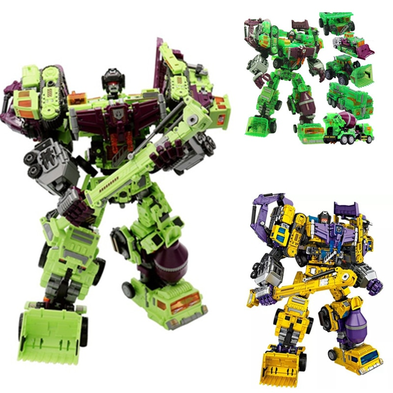 1-6 Action figure Robot Ko Devastator LONG HAUL Scraper Mixmaster Figure Toy Action Figure Toys for kids gift 1 6 carb toa heavy industries synthetic human experimental sentinel 1000toys action figure toy