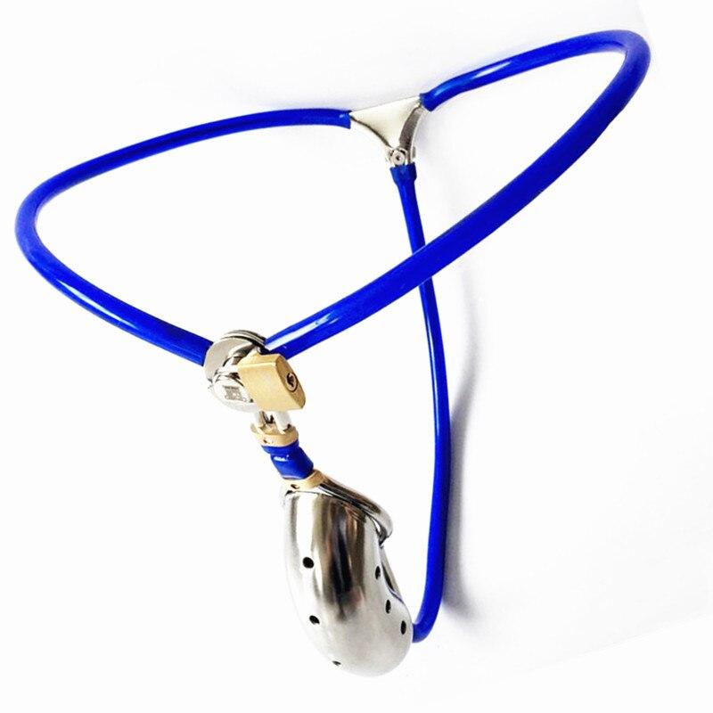 ¡Nuevo diseño! cinturón de castidad, cinturones de virginidad invisibles, jaula simplificada, Dispositivo de Castidad, Juguetes sexuales para hombres G7-51